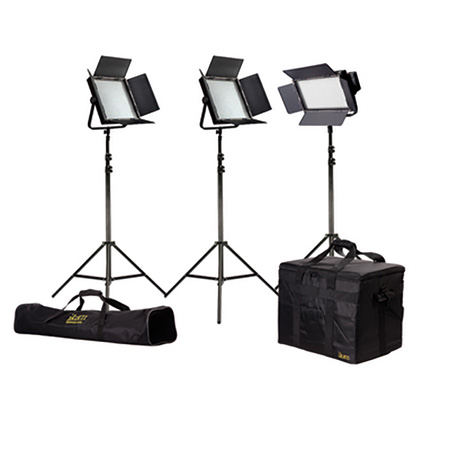 ikan IFD576-KIT Kit with 3 X IFD576 Lights w/AB and Sony V-Battery Mount Plates