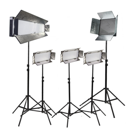ikan LOC-35011115-v3 5 Piece Lighting Kit