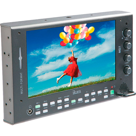 ikan MD7-V2 7 Inch High Brightness 3G-SDI Monitor w/ Auto Flip Screen