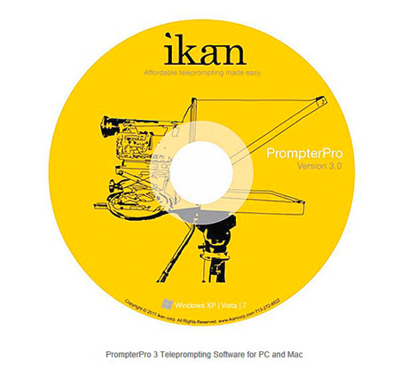 ikan PP3.0 PrompterPro 3.0 Teleprompting Software