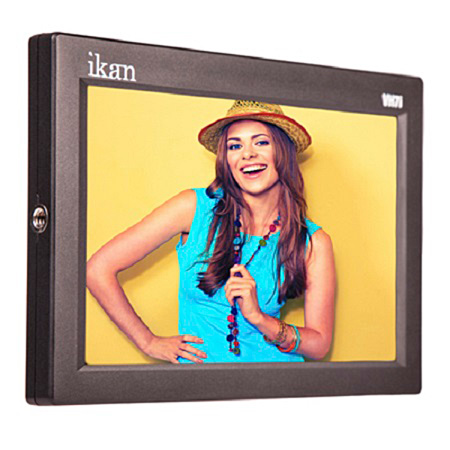 ikan VH7i 7 Inch HDMI LCD Monitor with IPS Panel and Sony BP-U  Battery Plate