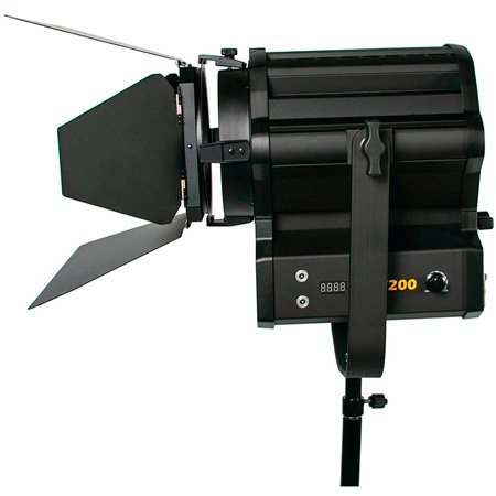 ikan WS-F200 White Star 6 Inch LED Fresnel 200 Watt Light