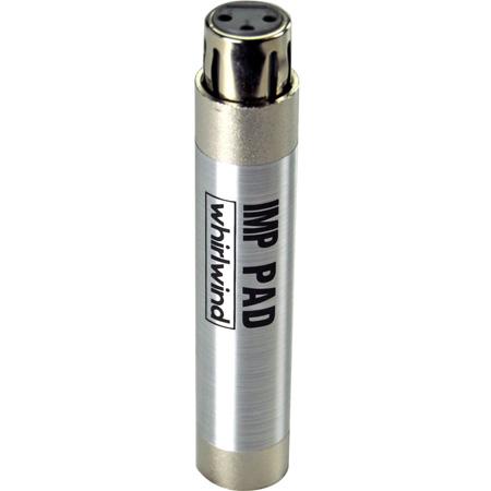 Whirlwind IMPAD10 Attenuator - XLR inline barrel 10dB