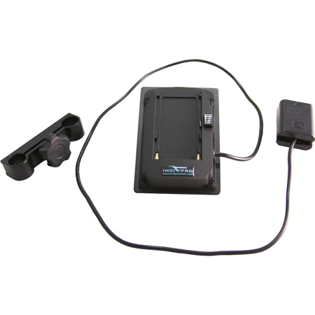 IndiPro Tools CLSNP Sony L-Series Mounting Plate to NP-FW50 Dummy Battery with 15mm Clamp