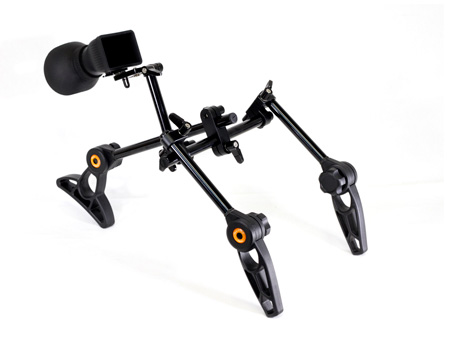IndiPro Tools INDIGUNR Two Handle DSLR Support Rig