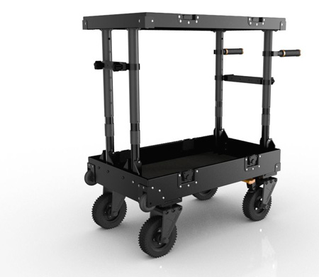 INOVATIV 900-110 Scout 31 Video Production Cart - 36H x 30W x 18D
