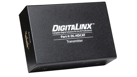 Intelix DL-HDCAT-S DigitaLinx Twin Category Cable HDMI 1.4 Sender
