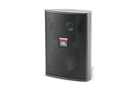JBL Control 23 3.5in 50 Watt 2-Way Speaker w/Mount Bracket (PAIR) White