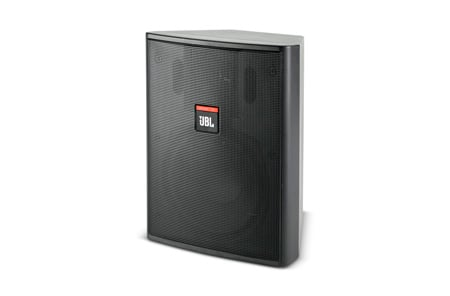 JBL Control 25 5.25in Control 25 Indoor/Outdoor 2-Way Speaker (PAIR) Black