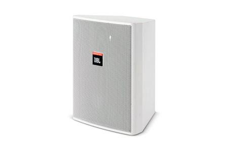 JBL Control 25 - 5.25in 2-Way Speaker with Transformer - White (PAIR)