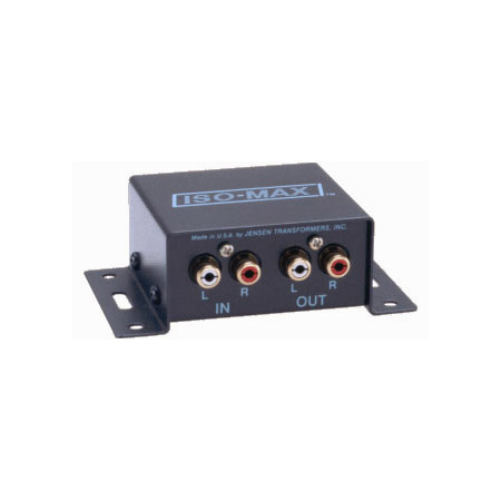 Jensen CI-2RR IsoMax Stereo Audio Isolator & Hum Eliminator