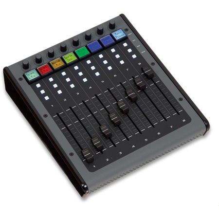 JLCooper Eclipse MXL2 Midnight 8-Fader Controller with LCD Buttons and  Rotary Encoders