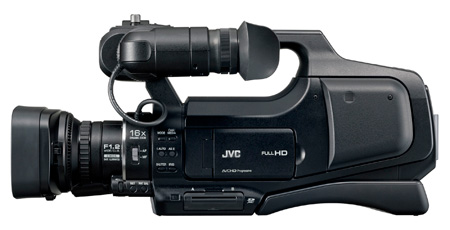 JVC GY-HM70U ProHD Shoulder Mount Solid State Media Camcorder