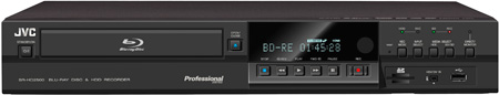 JVC SR-HD2500US BluRay Disc/HDD Combo Recorder Deck