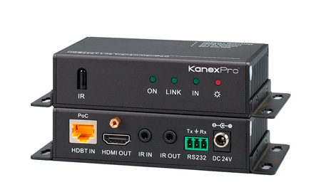 Kanex Pro HDBASE70POER HDBaseT Lite 70M 4K HDMI Over Single CAT6 - Receiver Only
