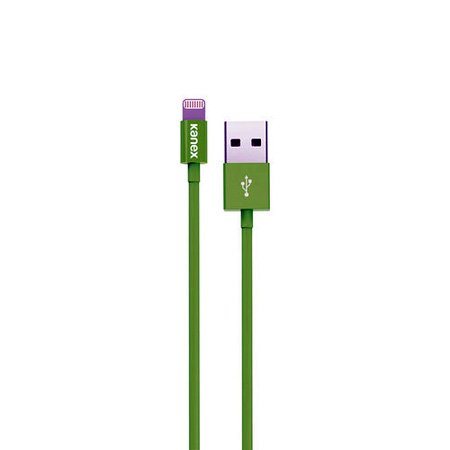 Kanex K8PIN4FGN Charge and Sync Cable with Lightning Connector 4FT (Green)
