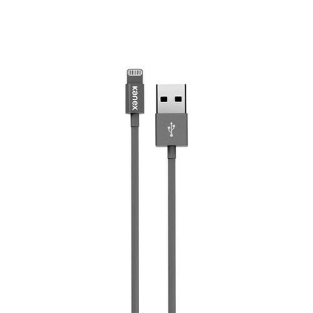 Kanex K8PIN4FLED4SV Charge and Sync Cable with LED Lighting Connector 4FT (Silver)