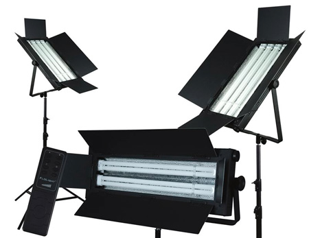 FloLight KIT-FL-110AWD3 Dimmable 5400K 3 Light Kit