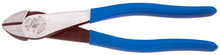 Klein Tools D2000-28 8-Inch High-Leverage Heavy Duty Diagonal-Cutting Pliers