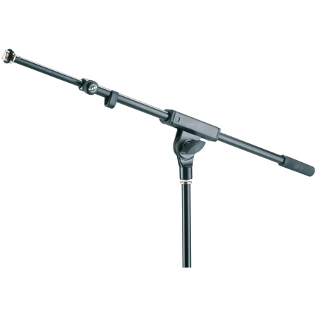 K&M 21120 2 piece telescopic Boom Arm 21 to 37 inches Adjustable Black