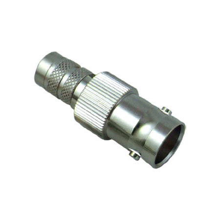 Kings 206G-034-00002N DIN-Plug/BNC-Jack Inline - Nickel