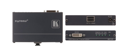 Kramer 671T DVI Over Multimode OM3 Fiber with SC Connectors - Transmitter