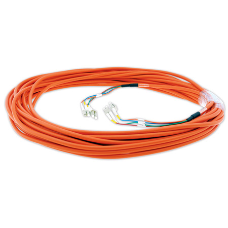 Kramer C-4LC/4LC-75 4 LC (M) to 4 LC (M) Fiber Optic Cable - 75 Ft