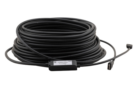Kramer C-FOHM/FOHM-66 HDMI M to M Fiber Optic/Copper Hybrid Cable - 66 Ft.