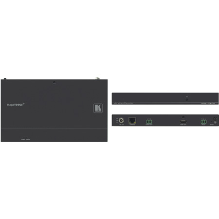 Kramer KDS-DEC5 4K60 4:2:0 - H.264 Video Decoder Supporting PoE and Video Wall