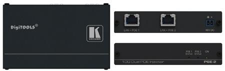Kramer PSE-2 10Gb UHD Power Over Ethernet Injector