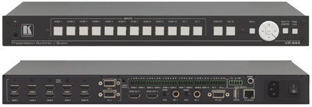 Kramer VP-444 12-Input HDMI & Analog ProScale Presentation Digital Scaler/Switcher