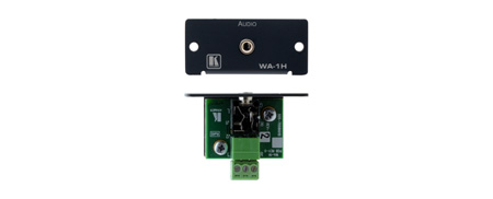 Kramer WA-1H Adapter Plate - Black
