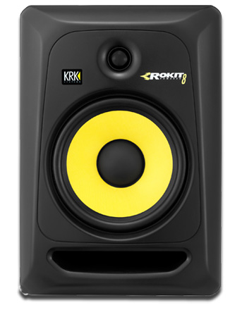 KRK RP8G3 Rokit 8 Powered Reference Studio Monitor w/8in Driver