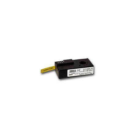Kroy 2470012 Black on Yellow Cartridge for 3/16 Inch Shrink Tube