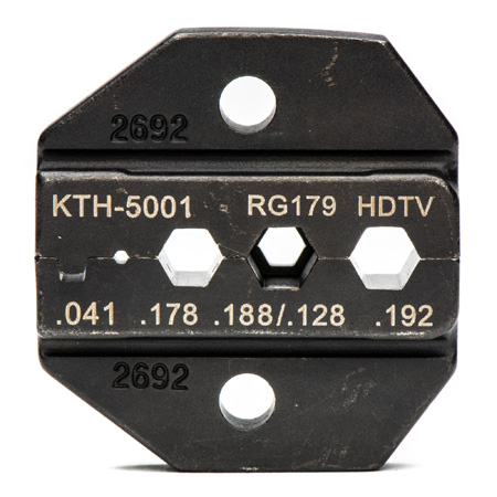 Kings KTH-5001 Crimp Die for KTH-5000 (Belden 1277/1278/1279P/1279R/1280/179DT)