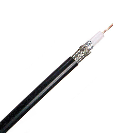 Canare L-3CFB 75 Ohm Digital Video Coaxial Cable by the Foot - Black