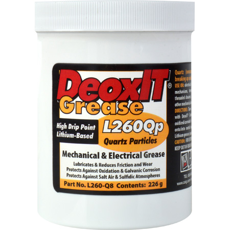 Caig Laboratories DeoxIT L260Qp Mechanical and Electrical Grease 226g