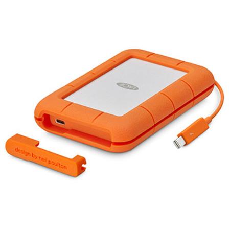 LaCie STFS5000800 5 TB External Hard Drive - Thunderbolt USB Type C - 256-bit Encryption Standard USB-C USB 3.1 3600 RPM