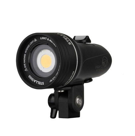 Light & Motion Stella 1000 IP68 1000 Lumen Single Point LED Light Source with Internal Battery