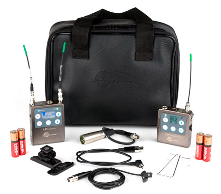 Lectrosonics ZS-LRLT-B1 Complete L-Series Camera Mount Lavalier Mic Kit Band B1 537.600 - 614.375 MHz