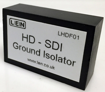 LEN LHDF01 Single Channel Passive HD Video Ground Isolator