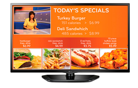 LG 55LN549E 55 Inch EzSign TV Display