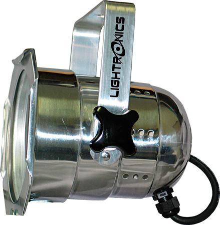 Lightronics PAR64-SU PAR Can Lighting Fixture - Silver
