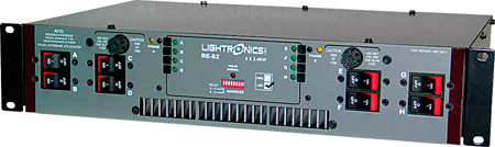 Lightronics RE82D Rack Mount Dimmer