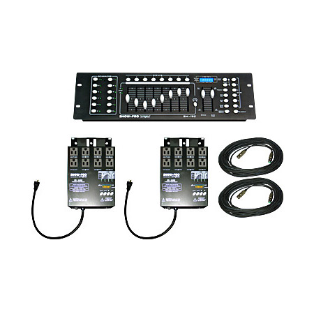 Lightronics SB-02 DMX System In A Box With 2 SD-4102 Dimmers