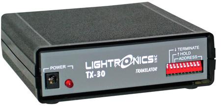 Lightronics TX30 DMX-512 (5 pin) Input to LMX-128 Output Converter