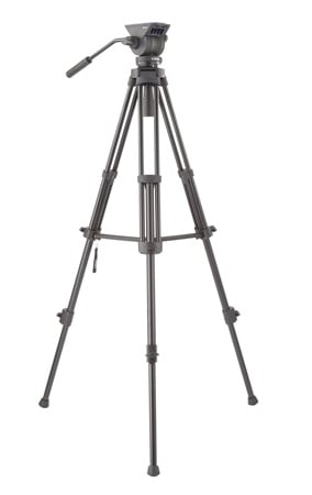 Libec TH-X ZFC KIT Tripod & Fluid Head with Zoom/Focus Control & Mid-Level Brace & Case