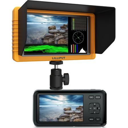 Lilliput Q5 5.5 Inch Full HD Camera Top Monitor with SDI and HDMI Cross Conversion