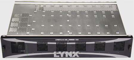Lynx Technik RFR5012 2 RU Rack Frame Plus Primary Power Supply