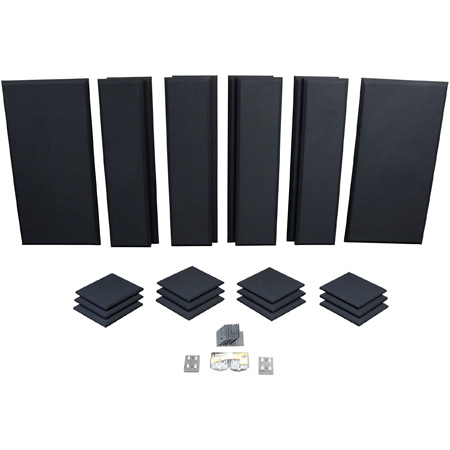 Primacoustic london 12a acoustic room kit black for for 120 square feet room